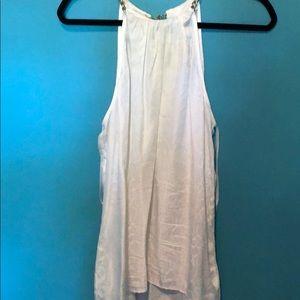 White snake skin shirt from cache
